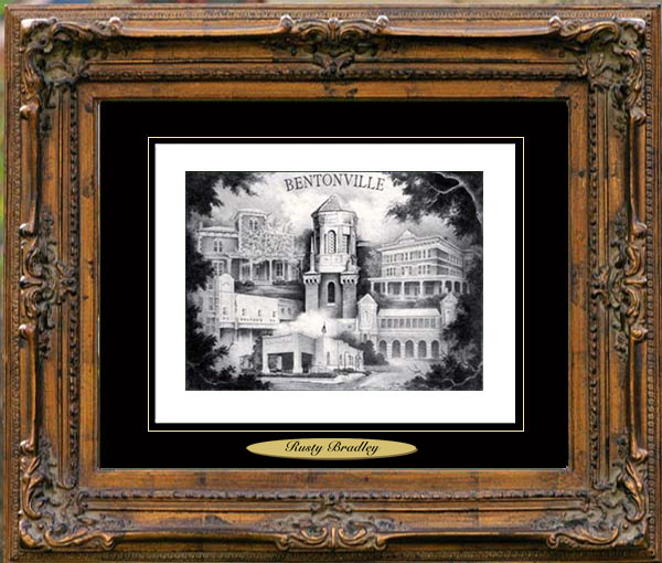 Bentonville, Arkansas–Home of Crystal Bridges Art Museum