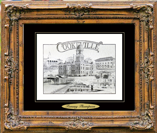 Pencil Drawing of Cookeville, TN